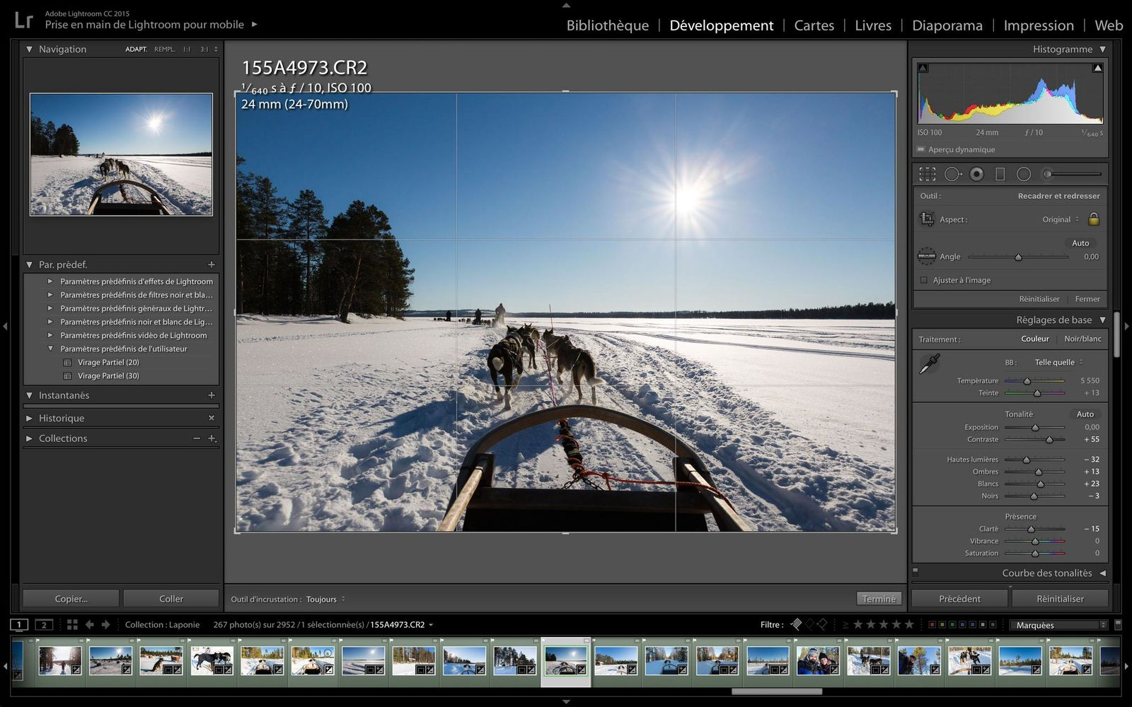 Lightroom, ma Check-list pour obtenir le meilleur de mes photos