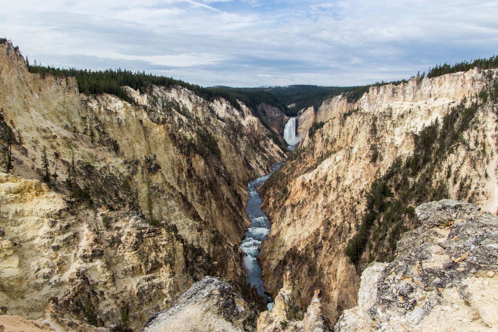 Le Parc National du Yellowstone - East Side