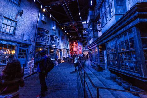 Dumbledore dans les studios Harry Potter à Londres