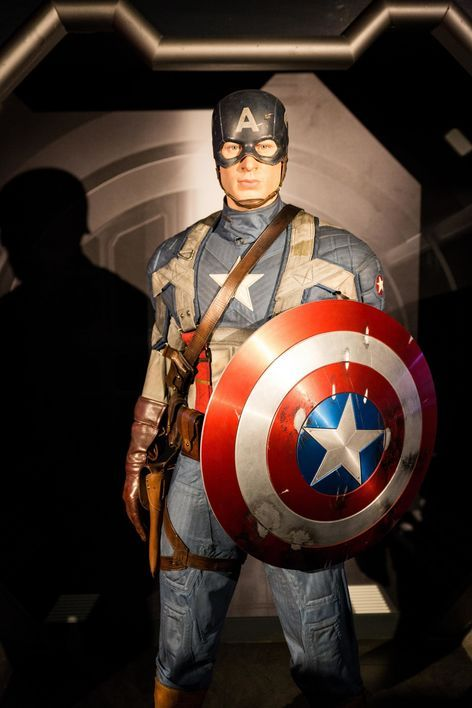 Captain America, à Madame Tussauds